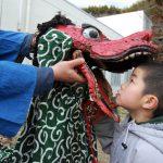 全国的に稲荷神社の縁日だが、月舘町の初午は「安洞霊神」を祀るもの。怠った年は大火に見舞われたという。 2011/3