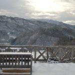 月舘花工房から望む冬の景色 2009/12/20