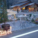 つきだて花工房、交流館もりもりで毎年行なわれるクリスマスのイルミネーション 2009/12
